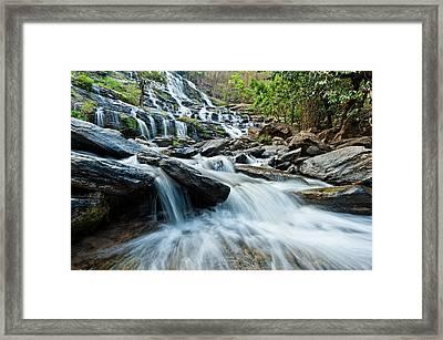 Mae Ya Waterfall Framed Print