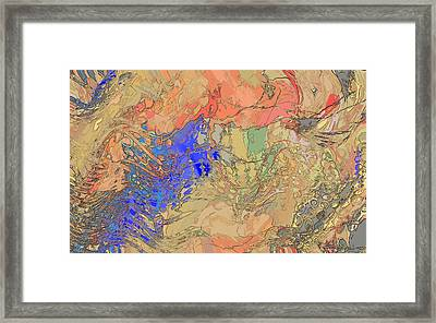 Maelstrom Framed Print by Constance Krejci