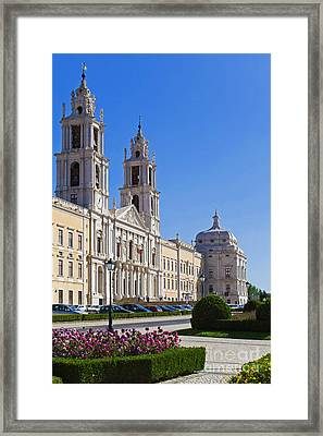 Mafra National Palace And Convent Framed Print