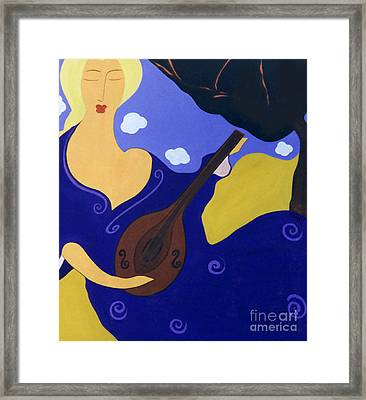 Magdelinas Song Framed Print