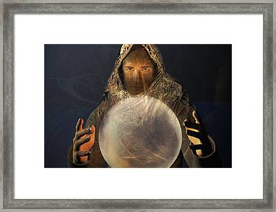 Mage Framed Print by Carol and Mike Werner
