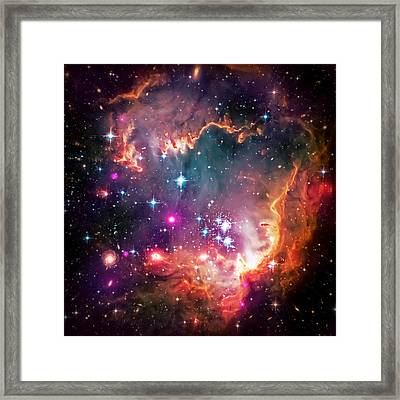 Magellanic Cloud 2 Framed Print by Jennifer Rondinelli Reilly - Fine Art Photography