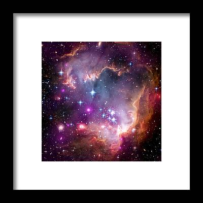 Milky Way Framed Prints