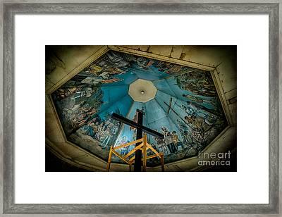 Magellans Cross Framed Print by Adrian Evans