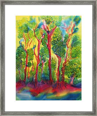 Framed Print featuring the painting Appreciation by Susan D Moody