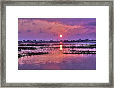 Magenta Sunrise Framed Print