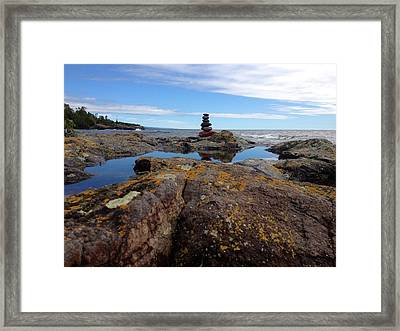 Magestic Framed Print by Carolyn Bistline