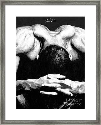 Maggette Framed Print by Tamir Barkan