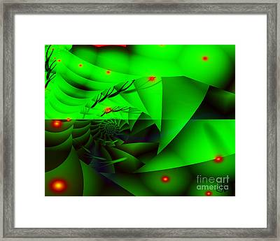 Hidden Shell Framed Print