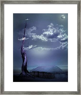 Magic At Midnight Framed Print