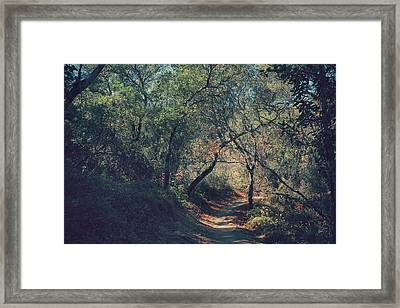 Magic Awaits Us Framed Print by Laurie Search