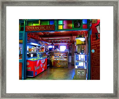 Framed Print featuring the photograph Magic Bar by Andreas Thust
