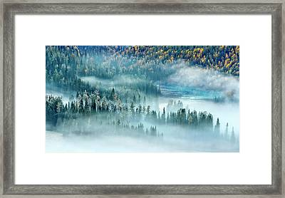 Magic Bay Framed Print