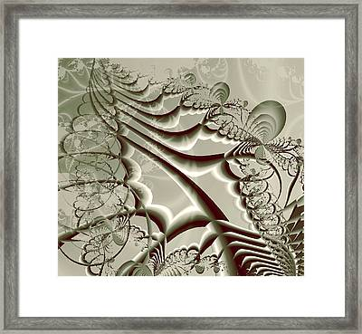 Magic Beanstalk  Framed Print by Anastasiya Malakhova