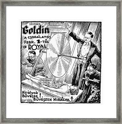 Magic Broadside, C1925 Framed Print by Granger