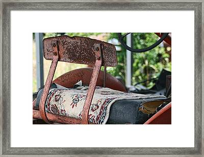 Magic Carpet Ride Southern Style Framed Print by Kathy Clark