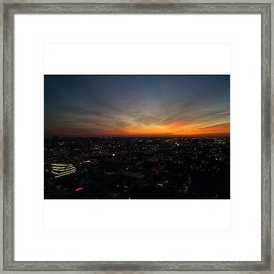 Magic City - Miami Framed Print