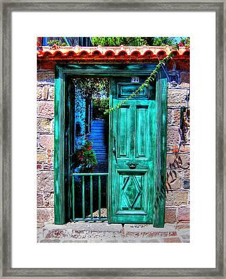 Magic Door Framed Print by Andreas Thust