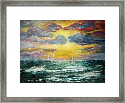 Magic Framed Print by Emery Franklin