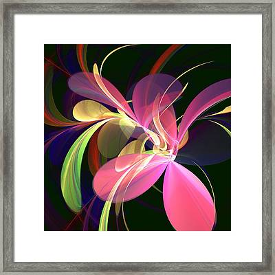 Magic Flower Framed Print by Anastasiya Malakhova