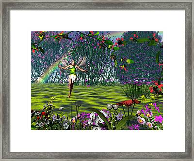 Magic Garden Framed Print