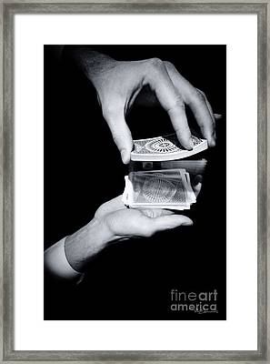 Magic Hands Framed Print