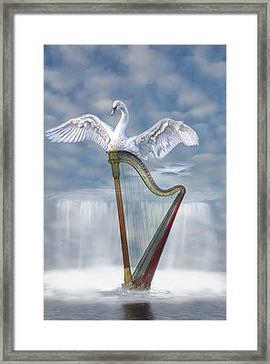 Magic Harp  Framed Print