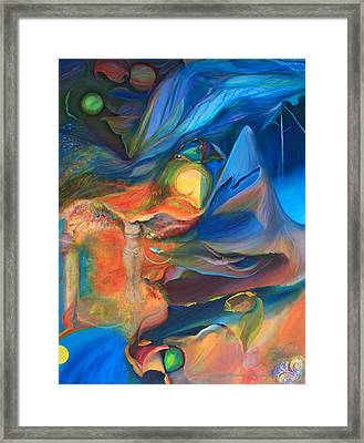 Magic In The Air - Art Only Framed Print by Brooks Garten Hauschild