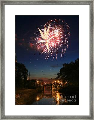 Magic In The Sky Framed Print