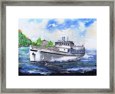 Magic Isle Framed Print