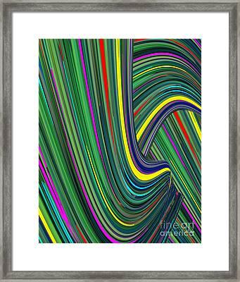 Magic Johnson Framed Print by Dalon Ryan