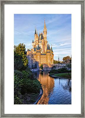 Magic Kingdom Castle Framed Print