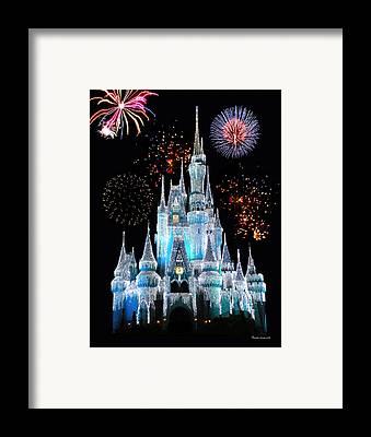 Fireworks Framed Prints