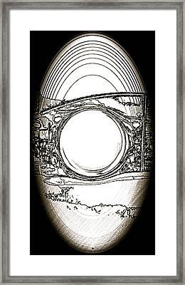 Magic Magnet Framed Print by Tetka Rhu