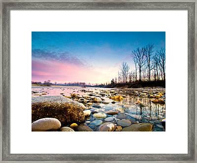 Magic Morning Framed Print by Davorin Mance