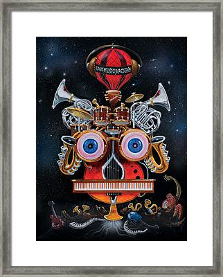 Magic Music Machine Framed Print