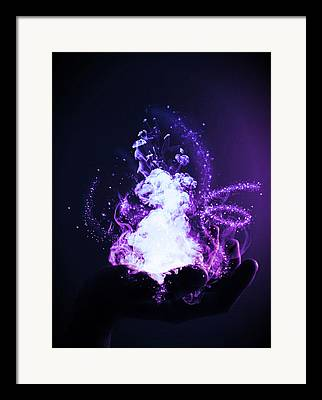 Fairy Dust Framed Prints