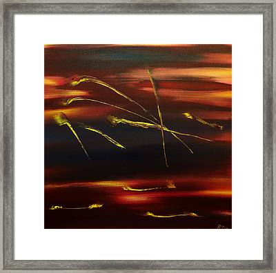 Magic Of Colours 2 Framed Print by David Hatton