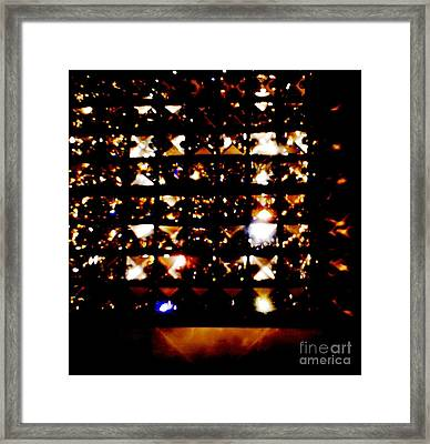 Magic Of Light  Framed Print by Baljit Chadha