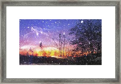 Magic Of Maine Framed Print