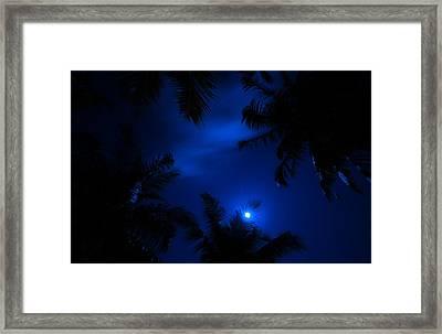 Magic Of The Night Sky 1 Framed Print by Jenny Rainbow