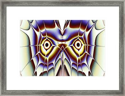 Magic Owl Framed Print by Anastasiya Malakhova
