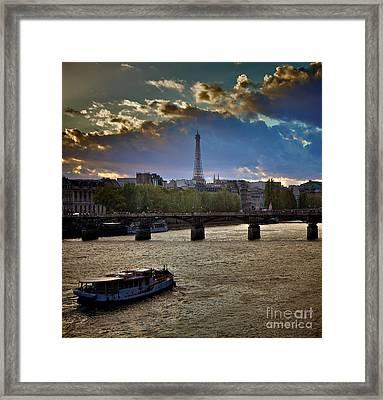 Magic Paris Framed Print by Donato Iannuzzi