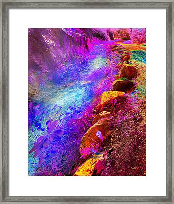 Magic Pathway II Framed Print by William Beuther