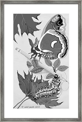 Magic Pencil Framed Print