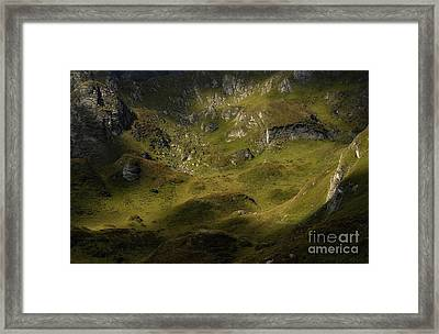 Magic Rock Framed Print