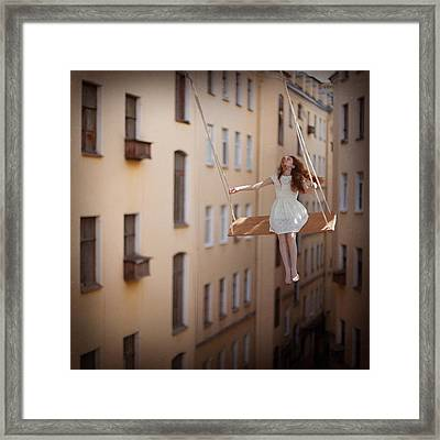 Magic Swings Framed Print