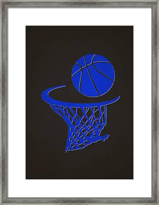 Magic Team Hoop2 Framed Print