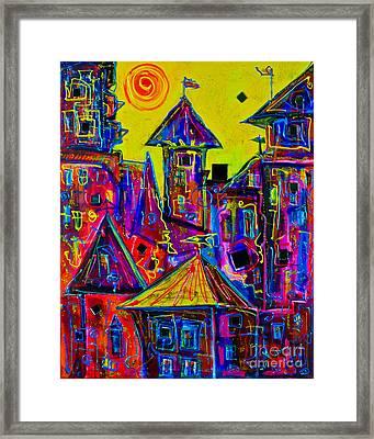Magic Town 2 Framed Print