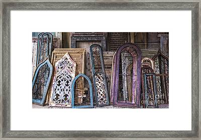 Magic Windows Framed Print